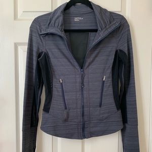 Zella Women's zip-up grey jacket
